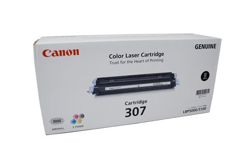 Canon Toner CART307BK Black Laser Cartridge