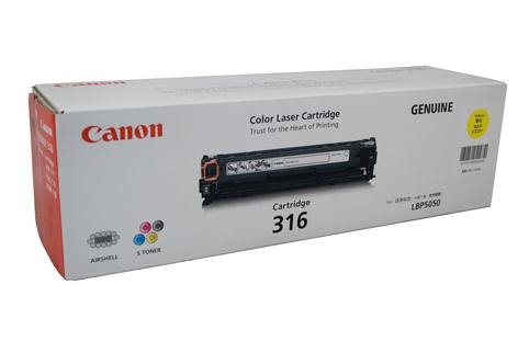 Canon CART316Y Yellow Toner Cartridge