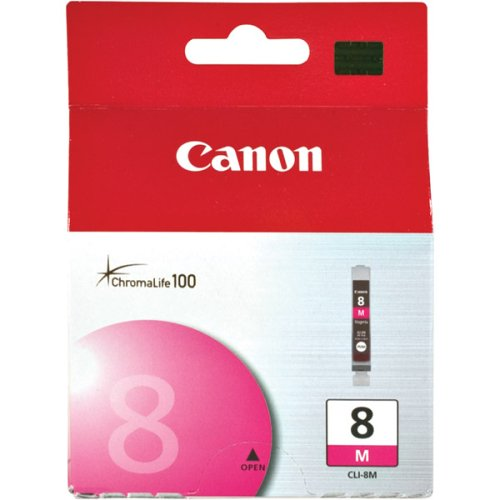 Canon CLI8M Magenta ChromaLife 100 Ink Cartridge