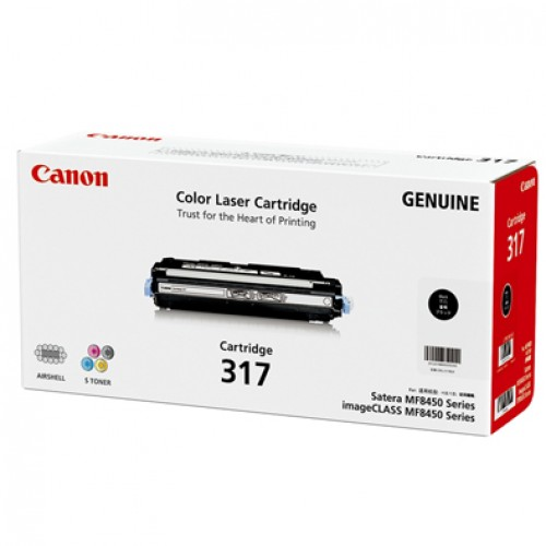 Canon CART317BK Black Toner Cartridge