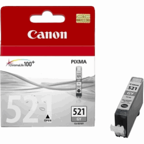Canon CLI-521GY Grey Ink Cartridge