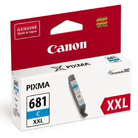 Canon CLI-681 Cyan Extra High Yield Ink Cartridge