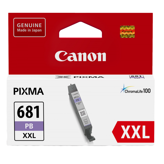 Canon CLI-681 Photo Blue Extra High Yield Ink Cartridge