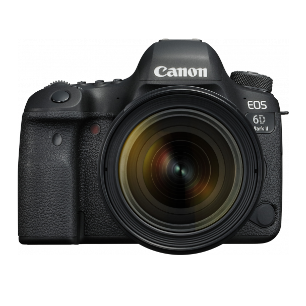 Canon EOS 6D Mark II 26.2 Megapixel Digital Camera with EF 24-70 Lens