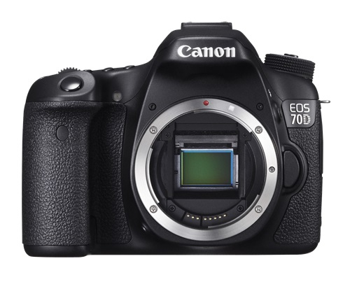 Canon EOS 70D 20.2 Megapixel Digital SLR Camera - Body Only