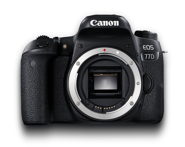 Canon EOS 77D 24.2 Megapixel APS-C DSLR Camera Body Only