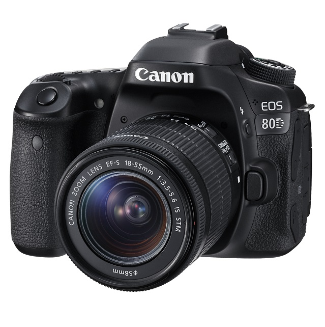 Canon EOS 80D 24.2 Megapixel Digital Camera with 18-55 Lens + 32GB SD Card!