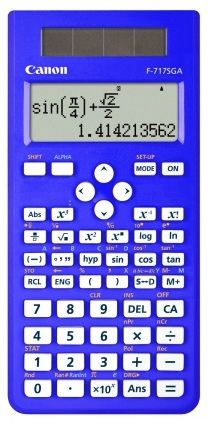 Canon F717SGA Blue Scientific Calculator - 242 Function