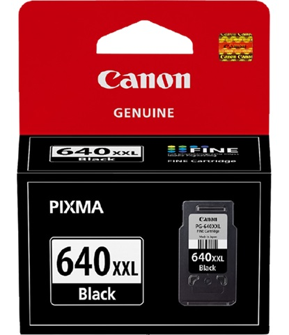 Canon PG-640XXL Black Extra High Yield Ink Cartridge