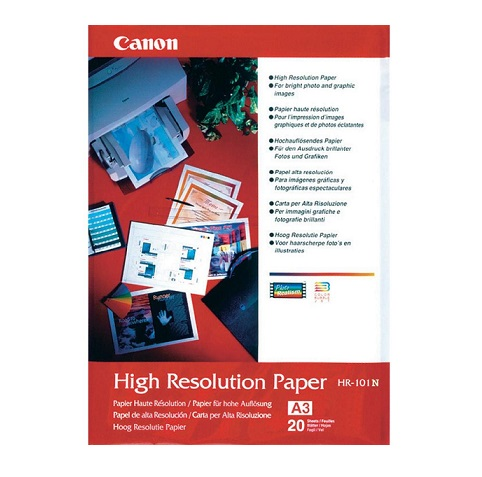 Canon HR-101 Matte High Resolution A4 110gsm Photo Paper - 50 Sheets