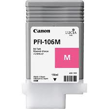 Canon PFI-106M Magenta Ink Cartridge for IPF6300 and IPF6400