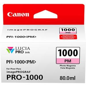 Canon PFI-1000PM Photo Magenta 80ml Ink Tank Cartridge