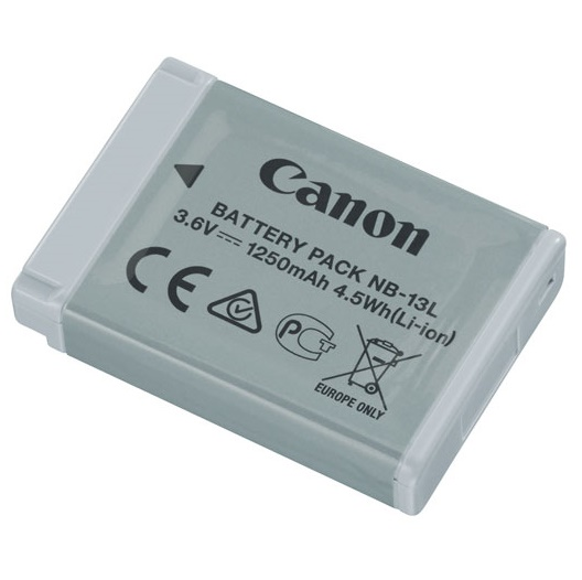 Canon NB-13L Li-Ion 1250mAh Battery Pack