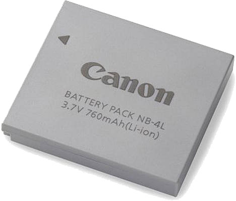 Canon NB4L Battery Pack for IXUS Digital Cameras