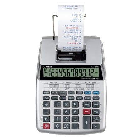 Canon P23-DTSC II 12 Digit 2 Colour Print Calculator