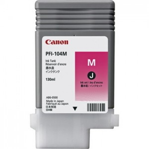 Canon PFI-104M Magenta 130ml Ink Tank Cartridge