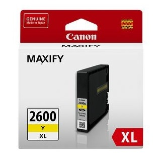 Canon PGI-2600XL Yellow High Yield Ink Cartridge