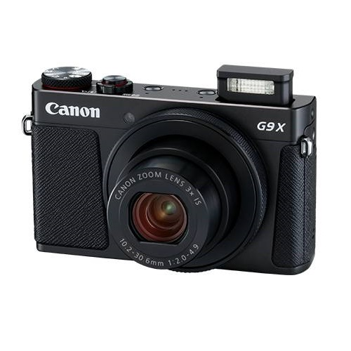Canon PowerShot G9 X Mark II 20.1 Megapixel 3x Optical Zoom Digital Camera - Black