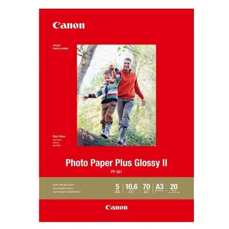 Canon PP301A3-20 Glossy A3 265gsm Photo Paper Plus III - 20 Sheets
