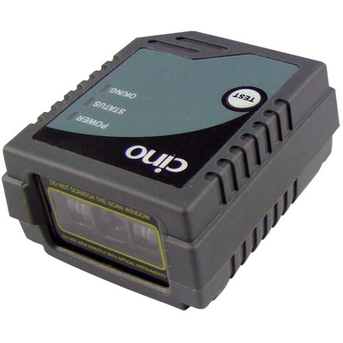 Cino FM480 RS232 Front View Fixed Mount Scanner