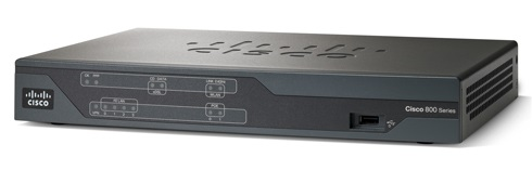 Cisco 887 VDSL/ADSL over POTS Multi-mode 6 Ports Desktop Router
