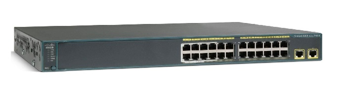 Cisco Catalyst 2960X-24TD-L 24 Ports Manageable Ethernet Switch