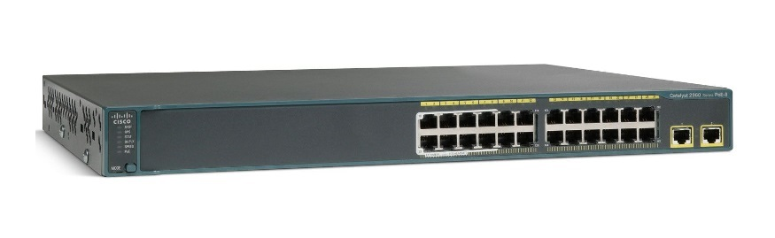 Cisco Catalyst 2960X-24PD-L 24 Port PoE Manageable Switch