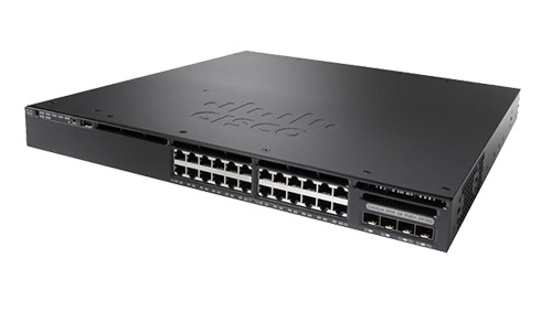 Cisco Catalyst 3650-24T 24 Ports Stack Port 4 x Expansion Slots Manageable Layer 3 Switch