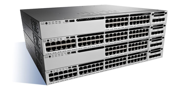 Cisco Catalyst 3850 12 Port Layer 3 Manageable Ethernet Switch