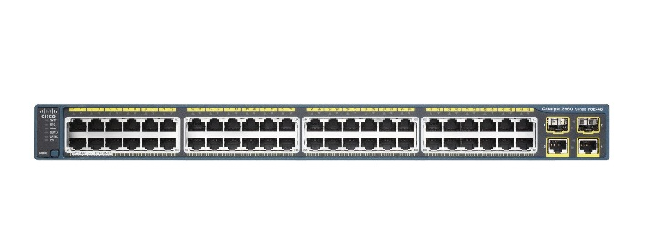 Cisco Catalyst 2960X 48 POE Ports Manageable 10/100/1000Base-T Ethernet Switch