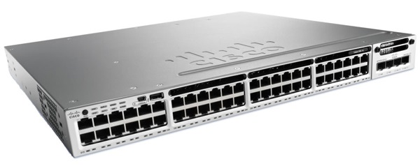 Cisco Catalyst 3650-48P 48 POE+ Port Layer 3 Manageable Switch