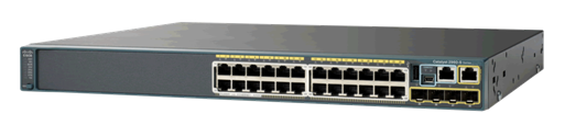 Cisco Catalyst C2960S 24 Ports Manageable Ethernet Switch 24 x RJ-45 Stack Port 5 x Expansion Slots 10/100/1000Base-T