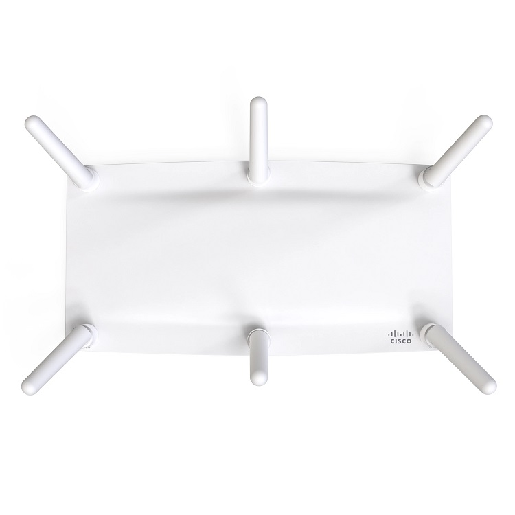 Cisco Meraki MR46E High Density 4x4:4 PoE Wireless Cloud Managed Indoor Access Point with Support for External Antenna