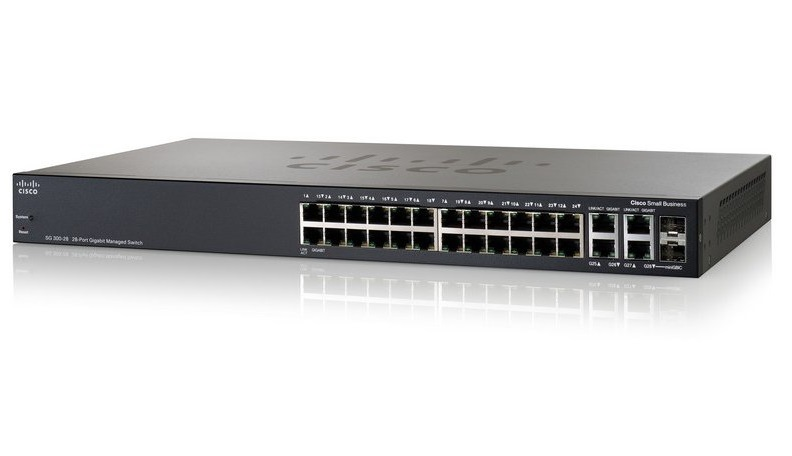 Cisco SG 300-28 28-port Gigabit Managed Switch
