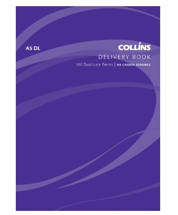 Collins A5 Delivery Duplicate NCR Book - 100 Leaf