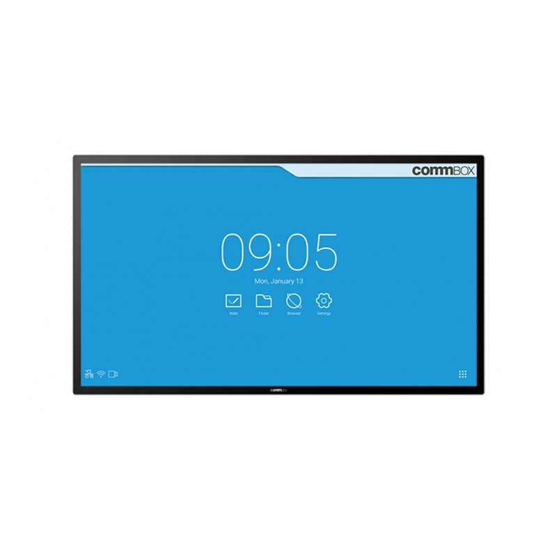 CommBox Pulse V3 86 Inch 4K 3840x2160 350nit Capacitive Touchscreen Commercial Display