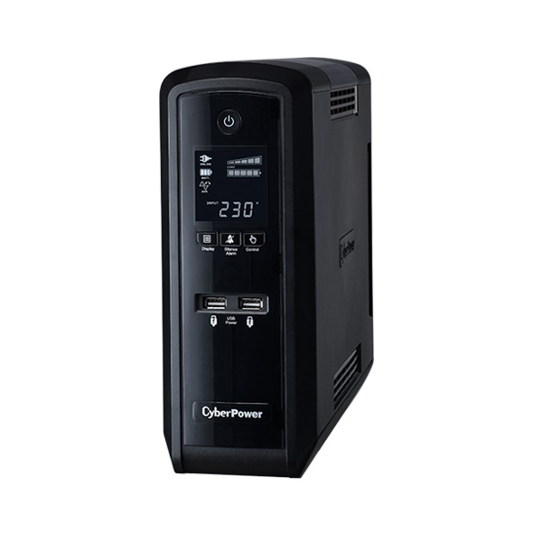 CyberPower PFC Sinewave Series 1500VA 900W 6 Outlet Line Interactive Tower UPS