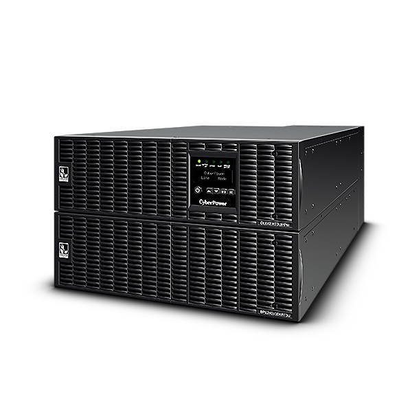 CyberPower Online Series 6000VA 5400W 11 Outlet Online Double Conversion 3RU Rack/Tower UPS