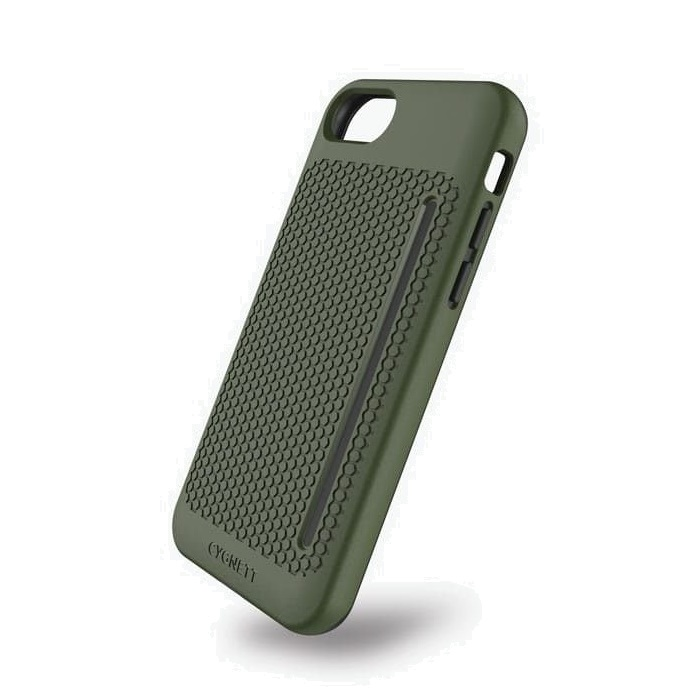 Cygnett WorkMate Pro Case for iPhone 7 & iPhone 8 - Khaki/Grey