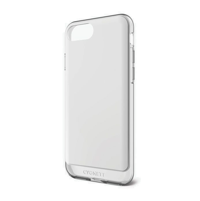 Cygnett AeroShield Case for iPhone 7 Plus & iPhone 8 Plus - White/Crystal