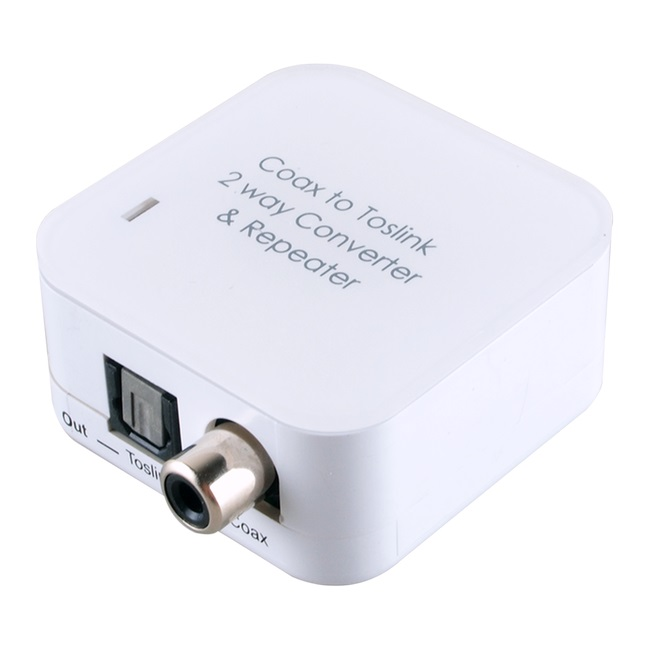 CYP Digital Audio Converter with Dual Outputs - Coaxial & Toslink