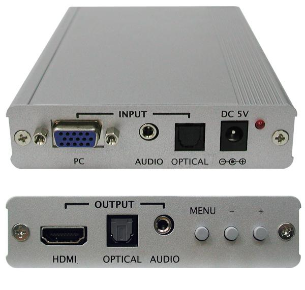 CYP VGA to HDMI 1080p Scaler Box HDMI 1.2, HDCP 1.1 & DVI 1.0 compliant