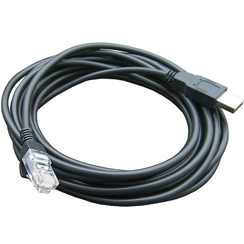 Datalogic USB Type-A POT 12ft Cable - Black