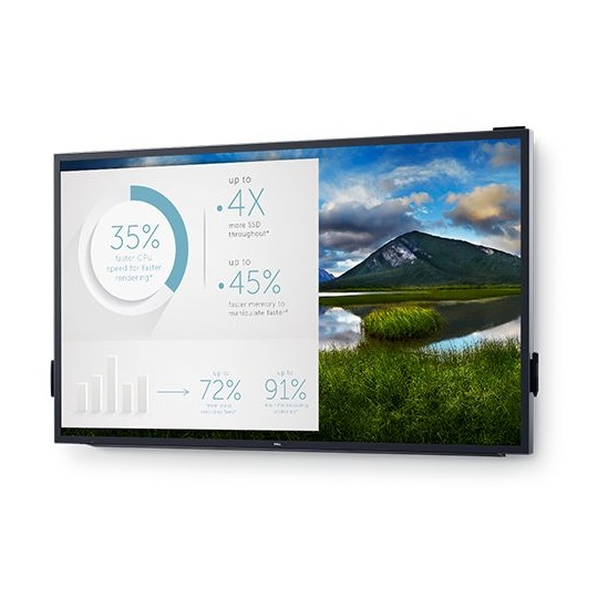 Dell C8618QT 85.6 Inch 4K 3840x2160 360nit 8ms Backlit Touchscreen Interactive Commercial Display Monitor