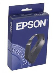 Epson S015091 Black Fabric Ribbon Cartridge