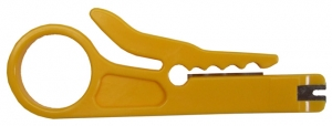 H Tools Economic UTP/STP Cable Stripper & 110 Insertion Tool. Stripper designed for cable 5 - 6.2mm