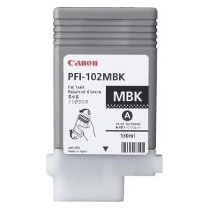 Canon PFI-102MBK Ink Cartridge - Matte Black