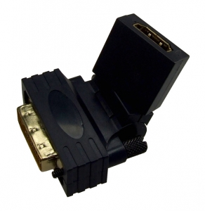 Dynamix HDMI Female to DVI Male Swivel Adapter