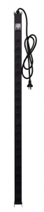 Dynamix 20 Outlet 10A Vertical Power Rail with 6kVA Circuit Breaker