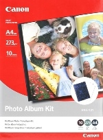 Canon PAK101A4 Glossy A4 270gsm Photo Album Kit - 10 Sheets